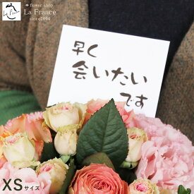 こんな時だから、花を贈ろう! ハロウィン 配送 配達 フラワーアレンジメント バラ 応援 頑張ろう メッセージ カード ピンク 赤 黄 緑 紫 白 オレンジ 全品送料無料 生花 ローズ 薔薇 11色から選択可能