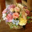 ミル・メリル■花 アレンジメント 花束 ローズ ばら 薔薇 記念日 結婚祝い 贈り物  お祝い即日発送 フラワー ギフト プレゼント 誕生日 出産祝い 結婚記念日 開店祝い スタンド花 バラ  お供え