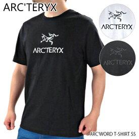 【ネコポス配送:1枚まで】ARC'TERYX アークテリクス ARC'WORD T SHIRT SS メンズ Tシャツ トップス 半袖 クルーネック ロゴT 〔24013〕