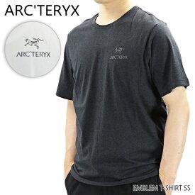 【ネコポス配送:1枚まで】ARC'TERYX アークテリクスEMBLEM T SHIRT エンブレム Tシャツ ショートスリーブ 半袖 メンズ[24026]