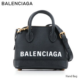 BALENCIAGA バレンシアガ Hand Bag 〔52505 00OT0M〕 ビルトップ ハンドル レザー ショルダーバッグ ハンドバッグ 2Way ロゴ