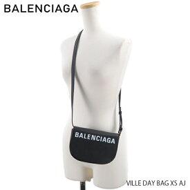 BALENCIAGA バレンシアガ VILLE DAY BAG XS AJ〔550639/0OTDM〕 エブリデイ ショルダーバック ポシェット 斜めがけ ボディバッグ ロゴ ブラック