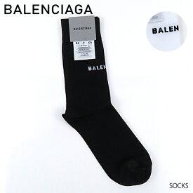 【予約】【2019 SS】【新作】【並行輸入品】『BALENCIAGA-バレンシアガ-』SOCKS 〔512473/368B8〕-ロゴ ソックス靴下 -《ご注文後3日前後発送予定》【お買い物マラソン!ポイント最大43倍!】