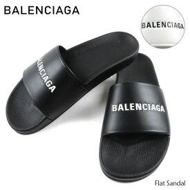BALENCIAGA バレンシアガ Flat Sandal フラットサンダル サンダル シャワーサンダル[530501]