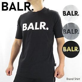 【2020 SS】【並行輸入品】『BALR. -ボーラー-』Brand Shirt メンズ Tシャツ 半袖 クルーネック ロゴT ストリート スポーティー『150時間限定! ポイント最大44倍!お買い物マラソン』