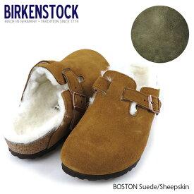 BIRKENSTOCK ビルケンシュトック Boston Suede/Sheepskin 1001140 1012249 1001141 ボストン サンダル スウェードレザー シープスキン [メンズ レディース サンダル]