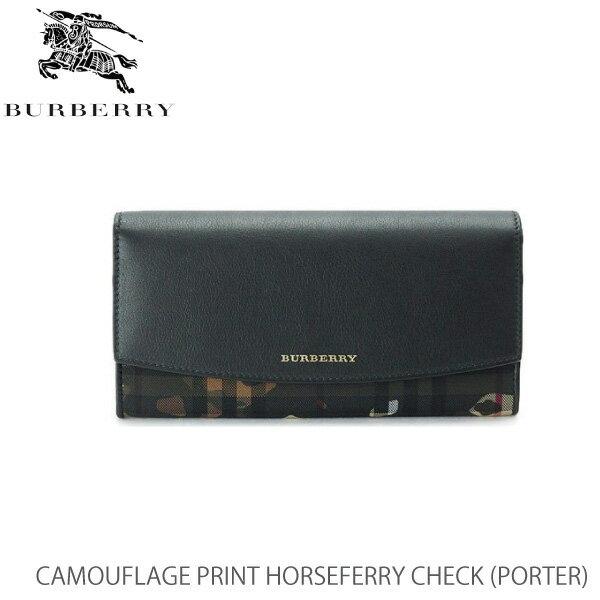 【送料無料】【並行輸入品】【BURBERRY-バーバリー】PORTER Camouflage Print HorseferryCheck