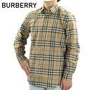 【10/19〜最大2000円OFFクーポン配布中 10/25迄】Burberry バーバリー Check Cotton Shirt コットンシャツ チェック …