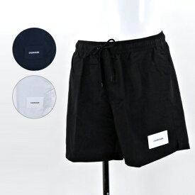 《返品交換不可》【2019SP】【並行輸入品】『Calvin Klein-カルバンクライン-』MEDIUM DRAWSTRING〔KM0KM00296〕メンズ ビーチウェア 海パン 水着