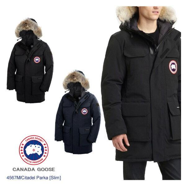 【送料無料】【2016AW】『CANADA GOOSE-カナダグース』Citadel Parka Slim Fit [4567M][シタデルパーカ メンズ ダウンジャケット コートスリムフィット]