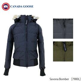 【送料無料】【並行輸入品】 『CANADA GOOSE-カナダグース』Savona Bomber [7900L][レディース ダウンジャケット]