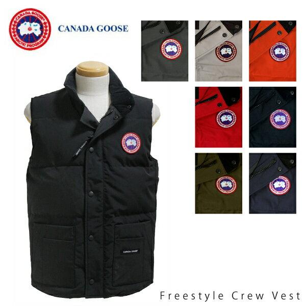【送料無料】【並行輸入品】【2018-2019AW】『CANADA GOOSE-カナダグース』Freestyle Crew Vest-フリースタイル クルー ベスト-[Slim Fit 4154M]