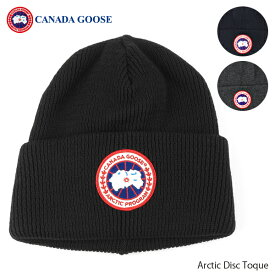 【スーパーセール期間 最大1000円OFFクーポン配布中】CANADA GOOSE カナダグースArctic Disc Toque アーティックディスクトーク ニット帽 ウール 帽子[5350M]