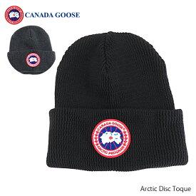 CANADA GOOSE カナダグースArctic Disc Toque ニット帽 レディース ロゴ [5350L]
