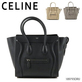 CELINE セリーヌ Luggage Micro 〔189793DRU〕