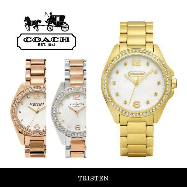 【送料無料】『COACH-コーチ-』TRISTEN 腕時計[14501661/14502104/14502105][レディース トリステン ウォッチ]