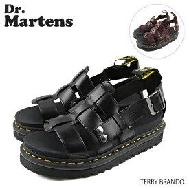 【並行輸入品】『Dr.Martens-ドクターマーチン-』TERRY BRANDO テリー ブランド レザー ストラップ サンダル[R23521001][R23521211]『150時間限定! ポイント最大44倍!お買い物マラソン』