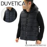 【予約】【送料無料】【並行輸入品】『DUVETICA-デュベティカ-』ARISTEOアリステオメンズダウンベストアウターマット[U2261N00/1162]《ご注文後3日前後発送予定》