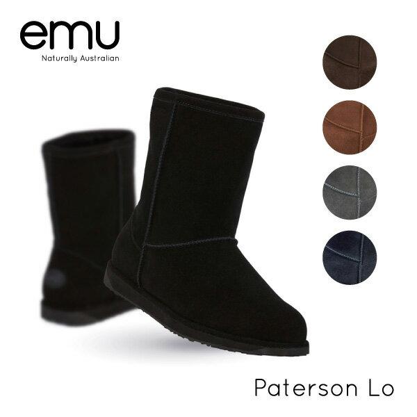 【予約】【送料無料】『emu-エミュー-』Paterson Lo[W10771][レディース ブーツ ムートン ウォータープルーフ 撥水防水]《ご注文後3日前後発送予定》