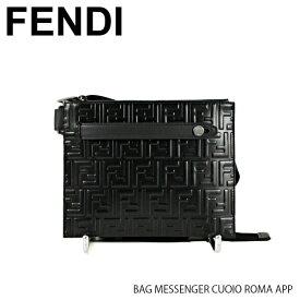 【送料無料】『FENDI-フェンディ-』BAG MESSENGER CUOIO ROMA APP[7VA437 A4K5]メンズ メッセンジャーバッグ『150時間限定! ポイント最大44倍!お買い物マラソン』