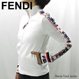 【送料無料】【2019 SS】【並行輸入品】『FENDI-フェンディ-』Mania Track Jacket レディース マニア トラックジャケット ロゴスウェット ジャージ[FAF069A6JO]【ポイント最大44倍!お買い物マラソン】