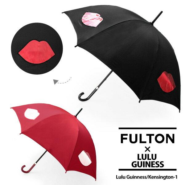 【同梱不可】【訳あり:キズ有り】【並行輸入品】『FULTON-フルトン−』Kensington-1 Lulu Guinnessモデル 長傘〔L777〕《ご返品交換不可》