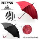 【同梱不可】『FULTON-フルトン−』Bloomsbury-2 Lulu Guinnessモデル 長傘〔L723〕[フルトン×ルルギネス コラボ ブルームズベ...