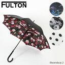 《返品交換不可》【同梱不可】【並行輸入品】『FULTON-フルトン-』Bloomsbury-2 長傘〔L754〕ブルームズベリー レディース ビニール傘【ポイント最大44倍!お買い物マラソン】