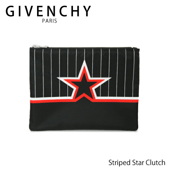 【LaG After SALE 開催中】【送料無料】【並行輸入品】【2018 SS】『GIVENCHY-ジバンシー-』Striped Star Clutch [BK600JK03T]