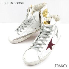 【予約】【並行輸入品】『Golden Goose-ゴールデングース-』FRANCY フランシー レディース スニーカー ハイカット[G33WS591B38]《ご注文後3日前後発送予定》