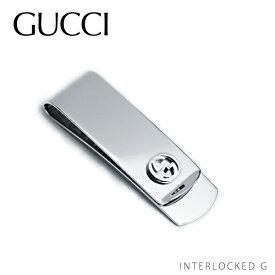 【送料無料】【並行輸入品】《返品交換不可》【2018】『GUCCI-グッチ-』Moneyclip with interlocking G motif〔343086 J2100 8116〕