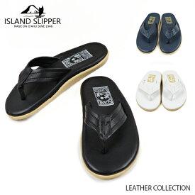 ISLAND SLIPPER アイランドスリッパ LEATHER COLLECTION レザーコレクション レザー サンダル メンズ レディース ユニセックス PT202