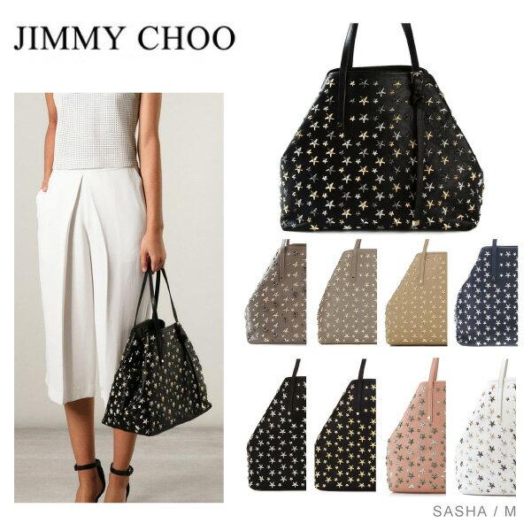 【送料無料】【並行輸入品】『JIMMY CHOO-ジミーチュウ-』SASHA M トートバッグ