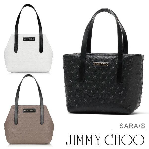 【送料無料】【並行輸入品】『JIMMY CHOO-ジミーチュー-』SARA/S[スモールトートバッグ ショルダー ハンドバッグ]