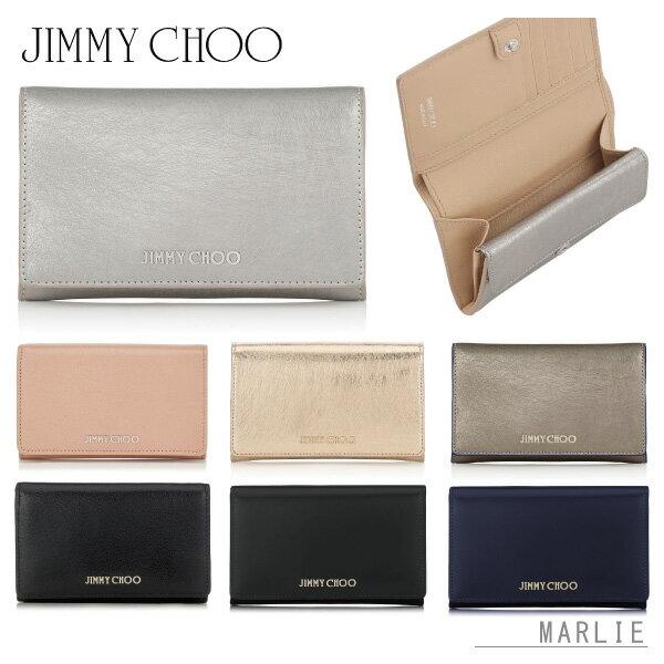 【送料無料】【2017 Fall】『JIMMY CHOO-ジミーチュー-』MARLIE[レディース メンズ 折りたたみ財布 二つ折り財布 コンパクト ウォレット]