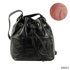 【送料無料】【並行輸入品】【2019 SS】『JIMMY CHOO-ジミーチュウ-』JUNO/S -ジュノ S ドローストリングバッグ- ショルダーバッグ