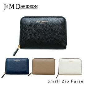 【並行輸入品】『J&M Davidson-ジェイアンドエムデヴィッドソン-』Small Zip Purse〔5259/7266〕[スモールジップ パス]