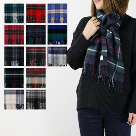 【2018 AW】【並行輸入品】『Johnstons-ジョンストンズ-』Cashmere Tartans-100%カシミア タータンチェック ストール マフラー[WA000016][180×25cm]【ポイント最大44倍!お買い物マラソン】