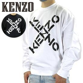 【500円OFFクーポン対象】KENZO ケンゾー トレーナー Sport Crewneck BIG X Sweatshirt スポーツ クルーネック ビッグX スウェットシャツ ロゴ 長袖 メンズ FA65SW5214MS 01/99