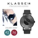 【送料無料】『KLASSE14-クラスフォーティーン-』VOLARE Dark 36mm/42mm〔VO14BK002〕[クラッセ ヴォラーレ 腕時計 メ…