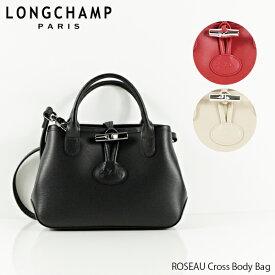 【送料無料】【並行輸入品】【2019 SS】『Longchamp-ロンシャン-』ROSEAU Cross Body Bag ロゾ ショルダーバッグ 〔1295 843〕
