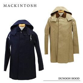MACKINTOSH マッキントッシュ DUNOON HOOD[5875HD][メンズ・ステンカラー・フーディ・アウター・コットン]
