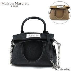 【20日〜25日限定!500円OFFクーポン対象】Maison Margiela メゾン マルジェラ 5AC Micro Bag ファイブエーシー マイクロ バッグ ハンドバッグ ショルダーバッグ レディース S56WG0081 P0396