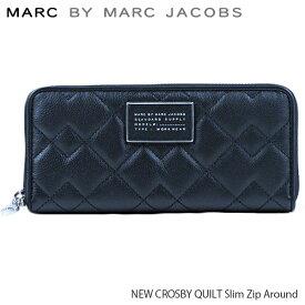 【並行輸入品】『Marc by MarcJacobs-マークバイマークジェイコブス』NEW CROSBY QUILT Slim Zip Around[M0007656]
