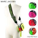 【送料無料】『MarcJacobs-マークジェイコブス』Snap Shot Flouro-スナップショット フラシーノ ショルダーバッグ ネ…