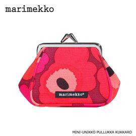 【予約】31%OFF!!【メール便可】【Marimekko-マリメッコ】PILLUKKAKUKKAROMiniUnikko[040035][10×8×6cm・がま口ポーチ・コインケース・ミニウニッコ]《11月22日前後発送予定》