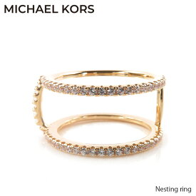 MICHAEL KORS マイケルコース Nesting ring ネスティング リング レディース シルバーリング [MKC1113AN791]