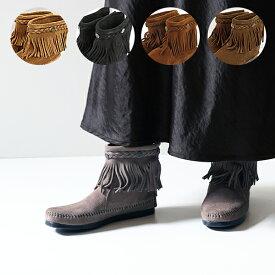 MINNETONKA ミネトンカ Hi Top Back Zip Boot ハイトップ バックジップ ショートブーツ