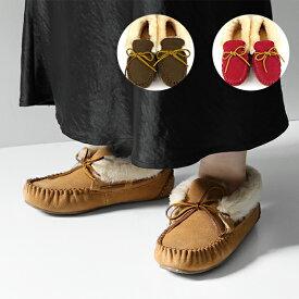 MINNETONKA ミネトンカ ALPINE SHEEPSKIN MOC アルパイン シープスキン モック モカシン スエード シューズ
