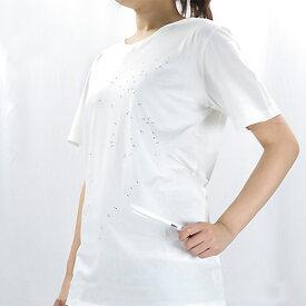 MM6 Maison Margiela エムエム6 メゾンマルジェラ CONSEGNATA CON PENNARELLO CANCELLABILE LAVABILE Tシャツ 半袖 オーバーサイズ〔S52GC0097 S21058〕